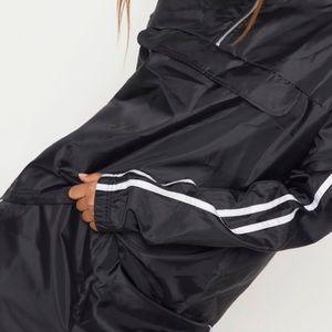 """93"""" Vintage Black CLASSIC Wind Breaker Pants"""